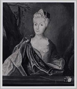 Portret van Christina Maria Louisa von Heiden -Bruch (....-1725)