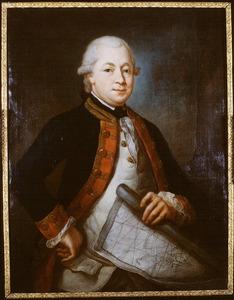 Portret van Jacob Andreas van den Velden (1740-1780)