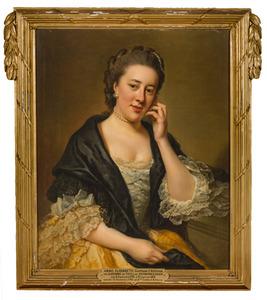 Portret van Anna Elisabeth Christine van Tuyll van Serooskerken (1745-1819)