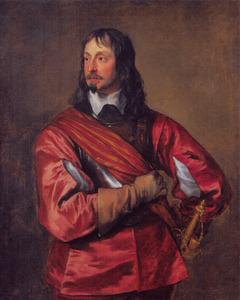 Portret van Sir John Mennes (1599-1671), bevelhebber van the King's Navy in de burgeroorlog