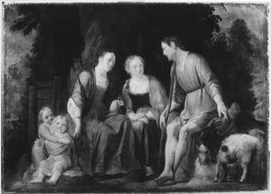 Jacob deelt Lea en Rachel mee, dat hij de dienst van hun vader Laban wil verlaten (Genesis 31:1-16)