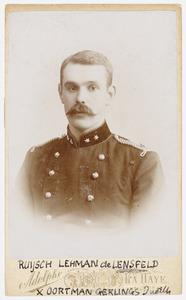 Portret van Henri Alexandre Ruijsch Lehman de Lehnsfeld (1864-1929)