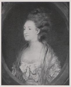 Portret van Louise van Denemarken (1750-1821)