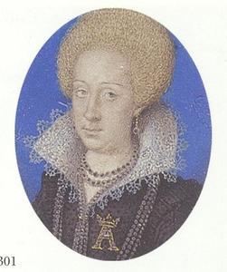 Portret van Anna Catherina van Brandenburg (1575-1612)