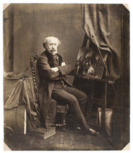 Portret van Nicolaas Pieneman (1809-1860)