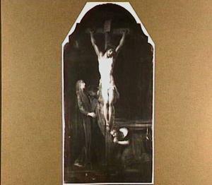 De Maria's en Johannes bij de gekruisigde Christus