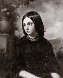 Portret van Anna Christina Elderink (1841-1911)