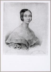 Portret van Carolina Benjamina Catharina Brest van Kempen (1807-1888)