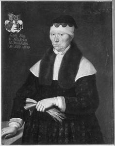 Portret van Jytte Styggesdatter Høeg (1589-1659)