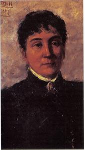 Portret van Betzy Rezora Berg (1850-1922)
