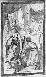 De hogepriester weigert het offer van Joachim (Protevangelium Jacobi)