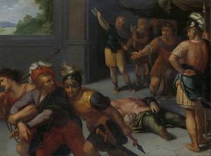 De onthoofding van Julius Paulus en de gevangenneming van Claudius Civilis