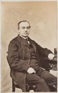 Portret van L.R. Wentholt, waarschijnlijk Ludolph Reinier Wentholt (1829-1902)