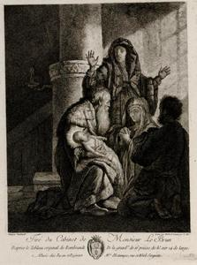 De opdracht in de tempel (Luke 2:22-40)