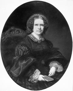 Portret van Johanna Dedel (1796-1873)