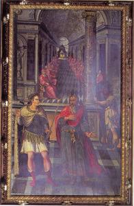 Helvidius Priscus en keizer Vespasianus