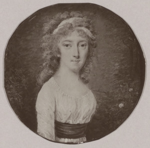 Portret van Catharina Regina van Buren (1770-1835)