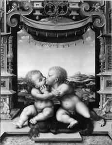 Christus en Johannes als kinderen