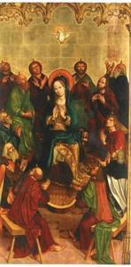 Pinksteren: de Heilige Geest wordt uitgestort op Maria en de apostelen