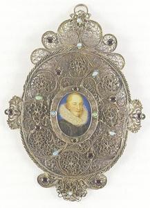 Portret van Heinrich Julius, hertog van Brunswijk-Lüneburg (1564-1613)