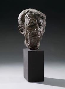 Portret van Willem Sandberg (1897-1984)