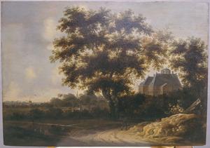 Huis ten Bosch, Den Haag gezien vanuit het oosten