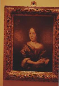 Portret van Agatha Prins ( -1679), echtgenote van Johannes Reeland