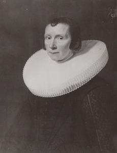 Portret van Maria van Hoogenhouck (1589-1649)