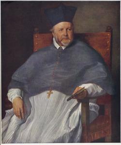 Portret van Jan Malderus, bisschop van Antwerpen (1563-1633)
