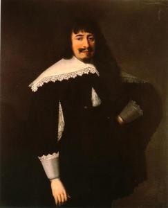 Portret van Martin Opitz van Boberfeld (1597-1639)