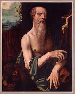 De boetvaardige Hieronymus in de wildernis