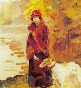 Portret van mevrouw S.