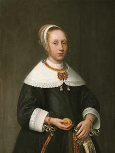Portret van een onbekend 14-jarig meisje