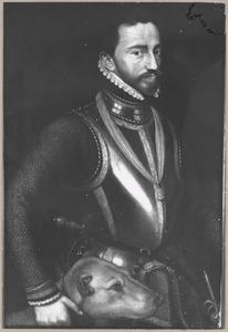 Portret van waarschijnlijk Lodewijk van Nassau (1538-1574)