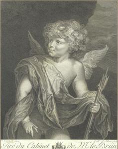 Portret van een jongen als Cupido