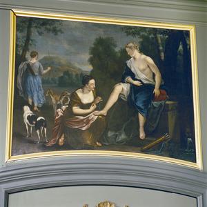 Diana met twee van haar nimfen