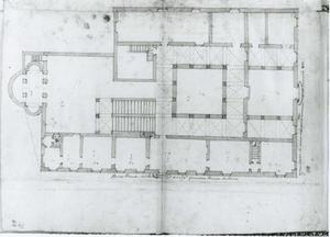 Palazzo della Meridiana: Grondplan