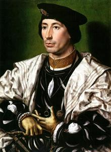 Portret van een man, mogelijk Karel van Bourgondië (?-1538)