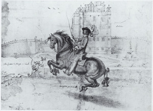 Ruiterportret van William Cavendish, 1e Hertog van Newcastle (1592-1676)
