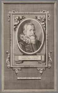 Portret van Ludolph van Keulen (1540-1610)