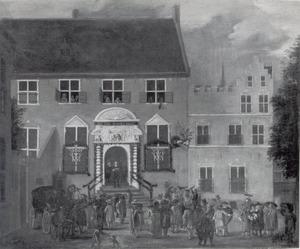 Afkondiging van het nieuwe regeringsreglement te Utrecht in 1674