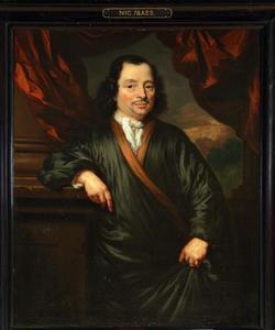 Portret van Abraham de Sadelaer