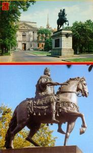 Peter de Grote als Romeinse keizer