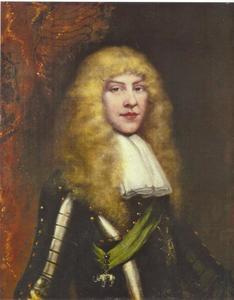 Portret van prins Johann Georg (III) als ridder in de Olifantsorde