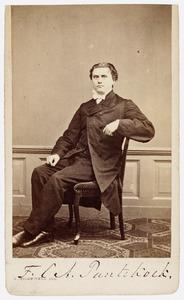 Portret van F.C.A. Pantekoek (1832 -1878)