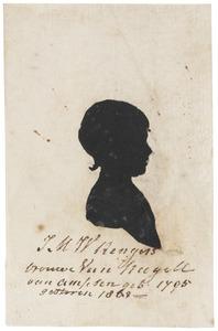 Portret van Justina Maria Wilhelmina Barones Rengers (1795-1863)