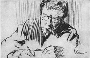 Portret van Alexander Cohen (1864-1961)