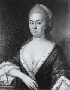 Portret van Ursula Philippota van Reede (1709-1778)