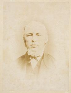Portret van Willem Jan Louis Verbeek (1820-1888)