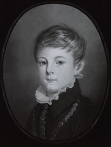 Portret van Martinus Gijsbertus Roering (1839-1850) of Johannes Gijsbertus Roering (1841-1850)